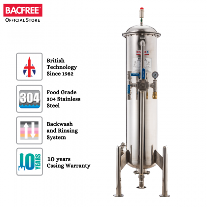 BACFREE ER28M Outdoor Filter for Home Premium with Matte Finishing (Free Installation)