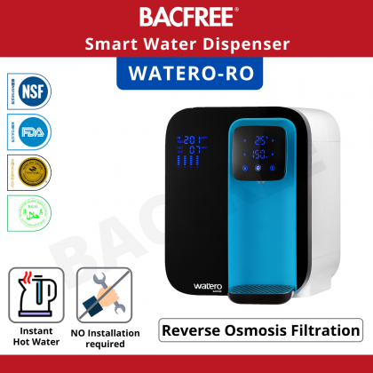 BACFREE Watero RO All-in-one Water Purifier / Filter System - Blue