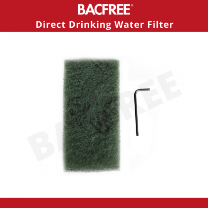 BACFREE BS3 Indoor Kitchen Tap Filter Sink Top Mounted (Without Installation)