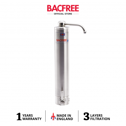 BACFREE BS3 Stainless Steel 304 Sink Top Mounting Design Water Filter Water Purifiers