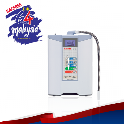 BACFREE BA3 Healthspring UltraFiltration Alkaline Ionizer Water Filter/Purifier System with pH 5.5 – 9.5 (Free Installation)
