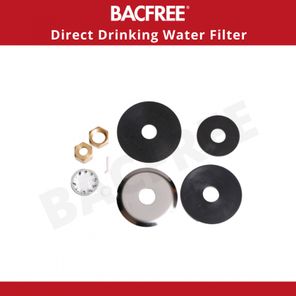 BACFREE BS-8 Indoor Kitchen Tap Filter Under Sink with VRH Duo Tap