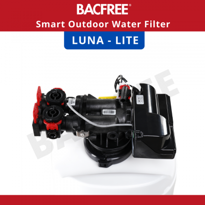 BACFREE Luna Lite Smart System Outdoor Filter for Home with Automatic Backwash (Installation provided for Klang Valley area only)