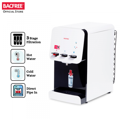BACFREE Cold, Warm & Hot Table Top Design Water Dispenser - BF19T