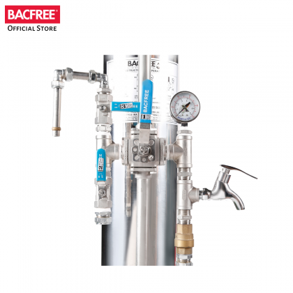 BACFREE ER28S Outdoor Filter for Home Premium with Polish Finishing (Free Installation within Klang Valley & Seremban Area)